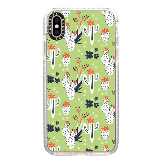 iPhone XS Max Cases - Desert Dreams (green)