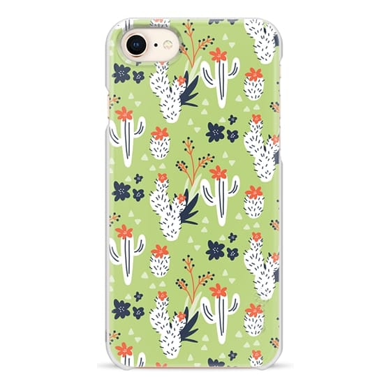 iPhone 8 Cases - Desert Dreams (green)