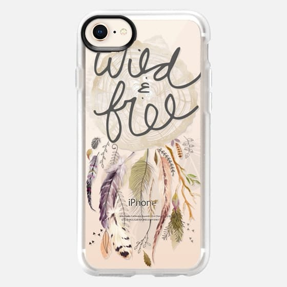 Wild and Free Dreamcatcher - Snap Case