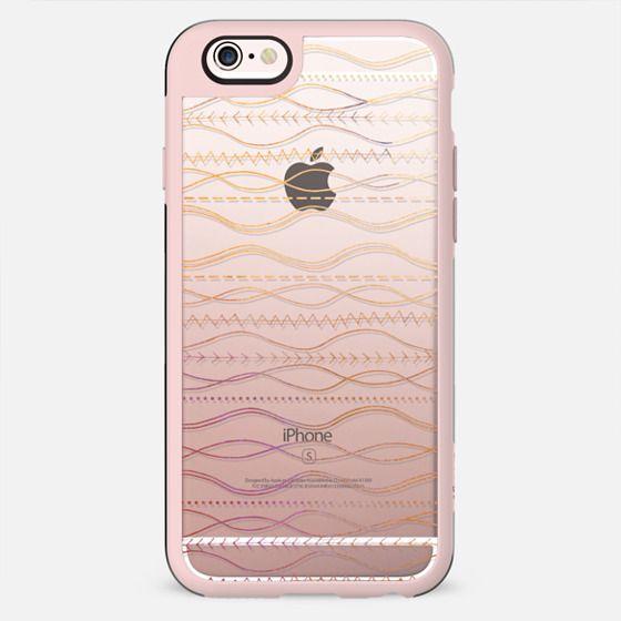 Watercolor Boho Waves bohemian gypsy - New Standard Case