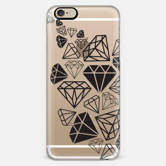 Black Diamonds Shine Bright Girly Girl Fun Bling Glamorous  -