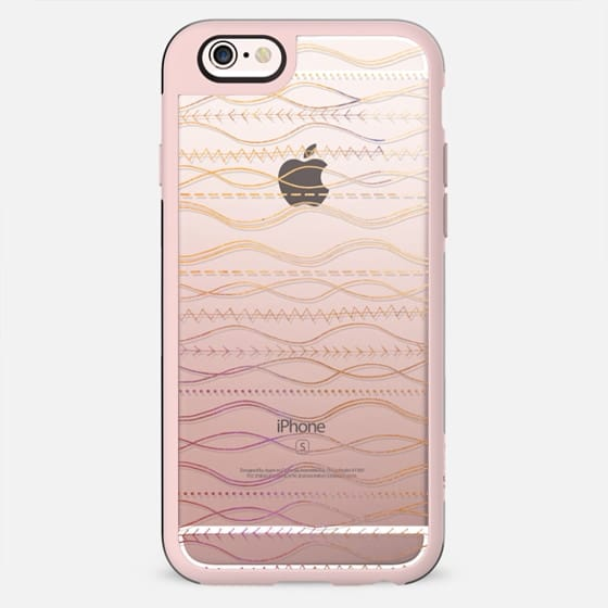 Watercolor Boho Waves bohemian gypsy - New Standard Case