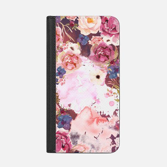pink maroon flower watercolor boho hippy bohemian coachella artist floral