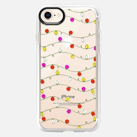 Christmas Lights Candy Colored Bright Holiday  - Snap Case