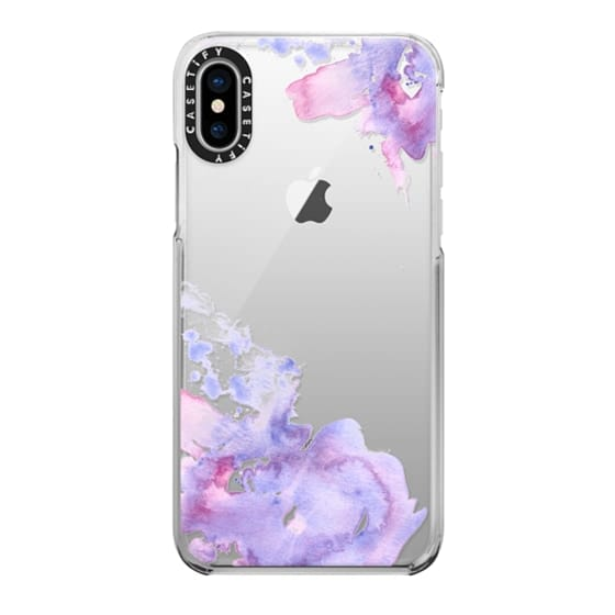 iPhone X Cases - Watercolor Splashes