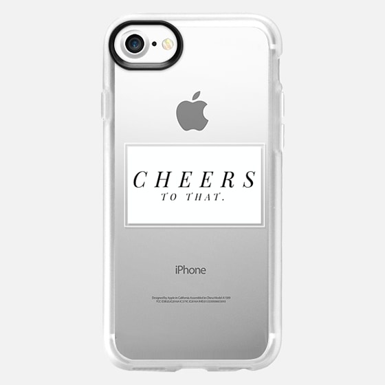 Cheers to that - white - Snap Case