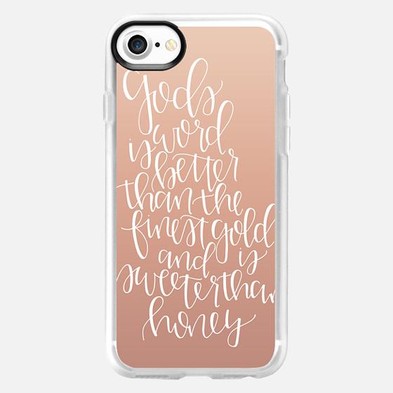 God's Word - Rose Gold - Snap Case