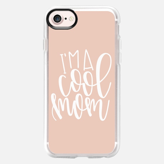 I'm a cool mom - blush - Snap Case