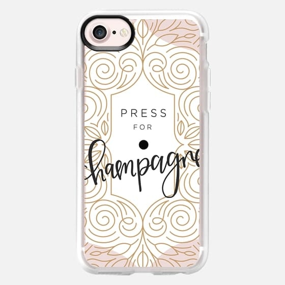 Press For Champagne - Art Deco - Snap Case