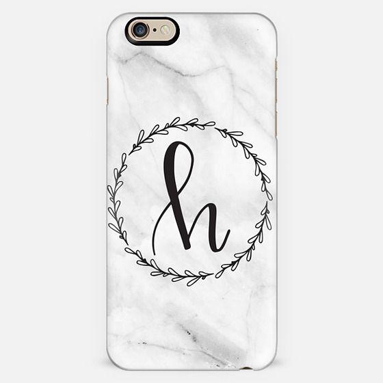 H Monogram - Marble