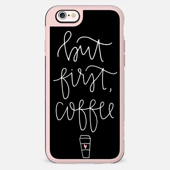 but first coffee - black + mug - New Standard Case