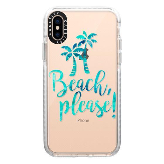 iPhone XS Cases - Beach Please! - Caribbean