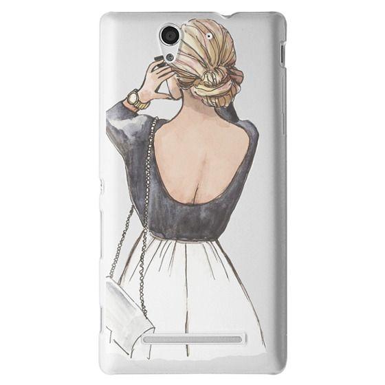 Sony C3 Cases - CLASSY GIRL