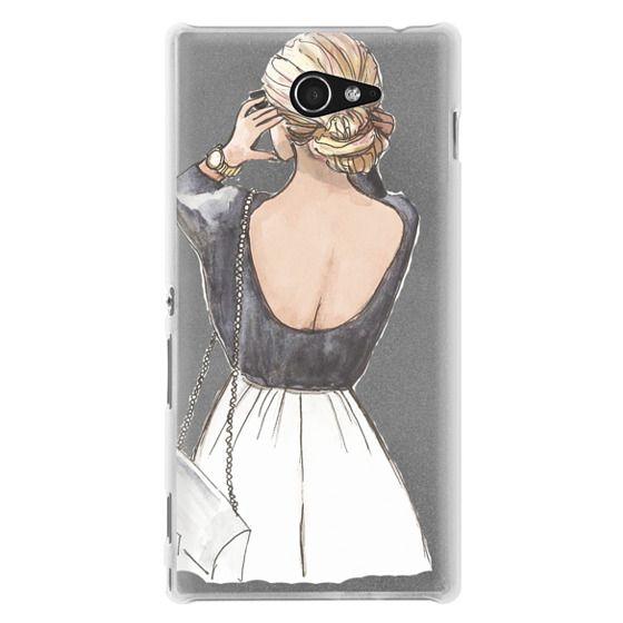Sony M2 Cases - CLASSY GIRL