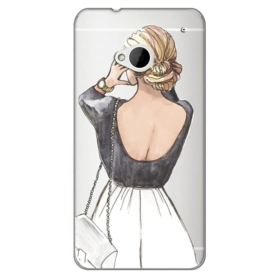 Htc One Cases - CLASSY GIRL