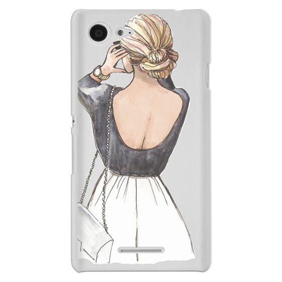 Sony E3 Cases - CLASSY GIRL