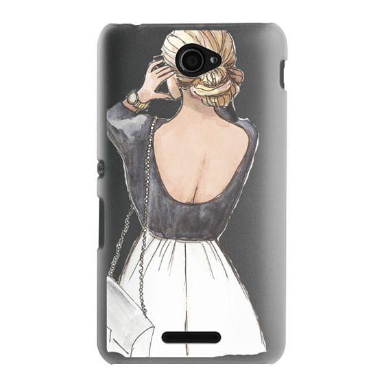 Sony E4 Cases - CLASSY GIRL