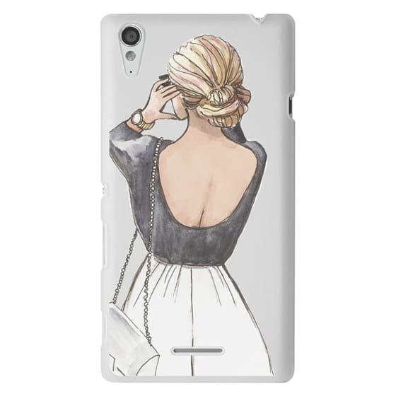 Sony T3 Cases - CLASSY GIRL