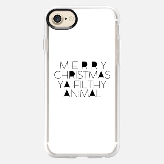 Merry christmas ya filthy animal - Wallet Case