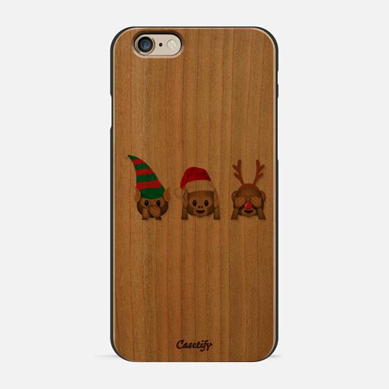 christmas monkeys -