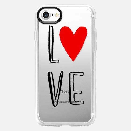 love, heart, valentines - Wallet Case