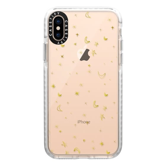 iPhone XS Cases - stars and moons