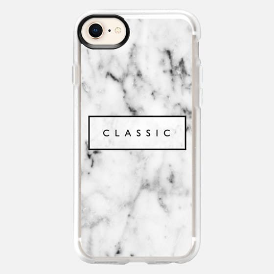 'classic'-marble case - Snap Case