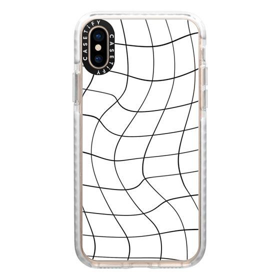 iPhone XS Cases - warped