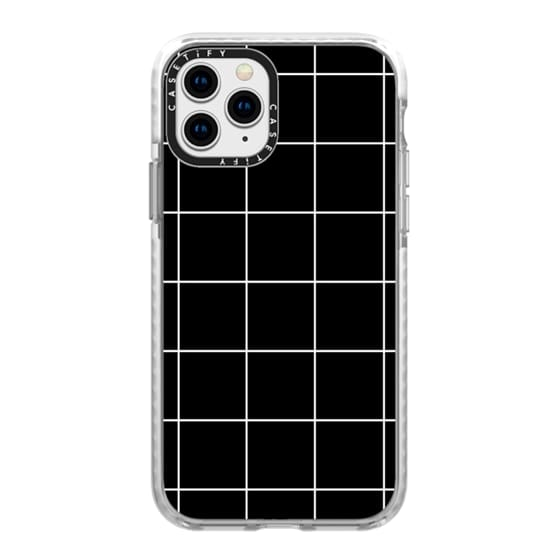 iPhone 11 Pro Cases - black squares