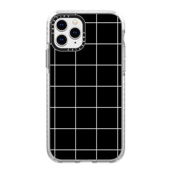 iPhone 11 Pro Cases - black squares