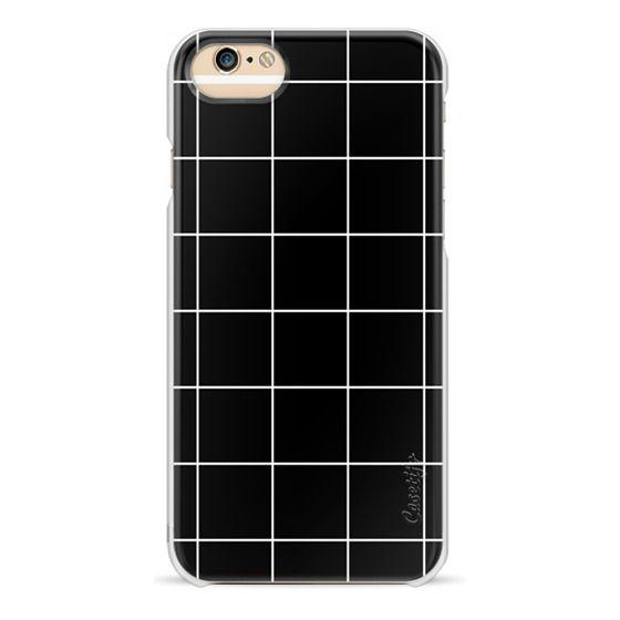 iPhone 6s Cases - black squares