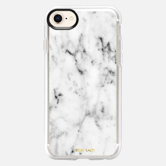 boss lady-marble case - Snap Case