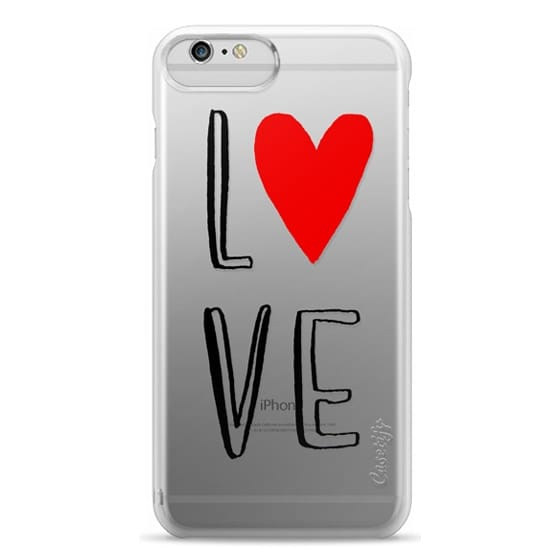 iPhone 6 Plus Cases - love, heart, valentines