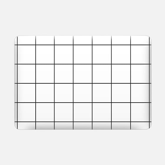 squared laptop case -