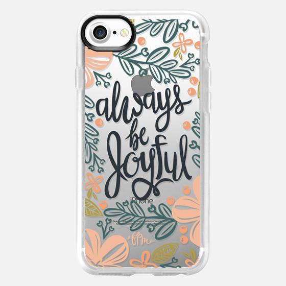 Always Be Joyful - Wallet Case