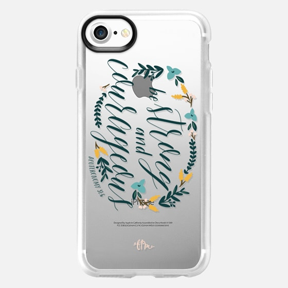 Be Strong & Courageous - Classic Grip Case