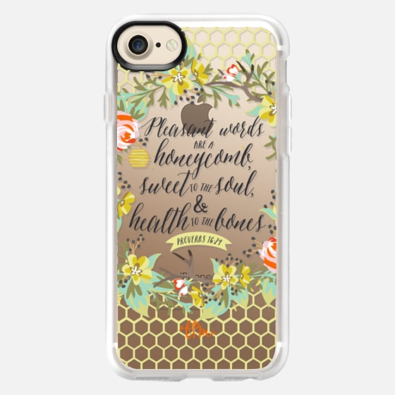 Kind Words Are Like Honey - Snap Case