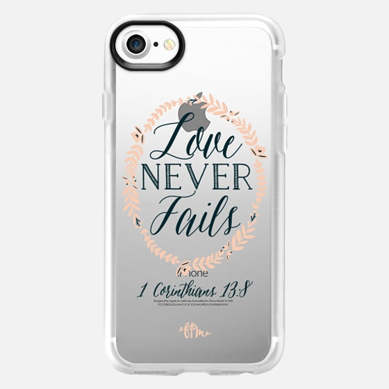 Love Never Fails - Classic Grip Case