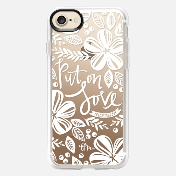 Put on Love - White - Snap Case