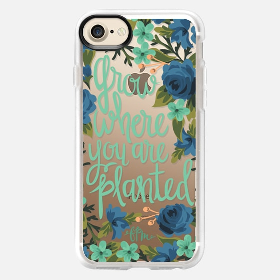 Grow Where You Are Planted - Snap Case