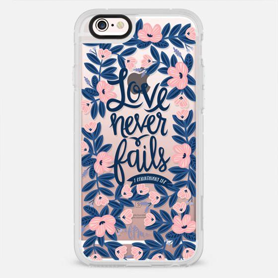 Love Never Fails - New Standard Case