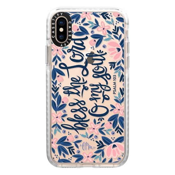 iPhone XS Cases - Bless the Lord- O my Soul