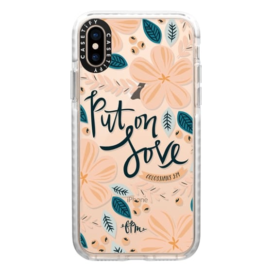 iPhone XS Cases - Put on Love