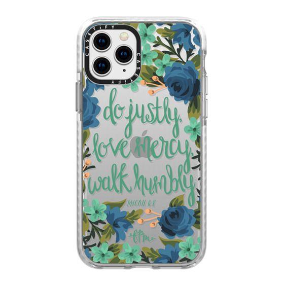 iPhone 11 Pro Cases - Micah 6:8