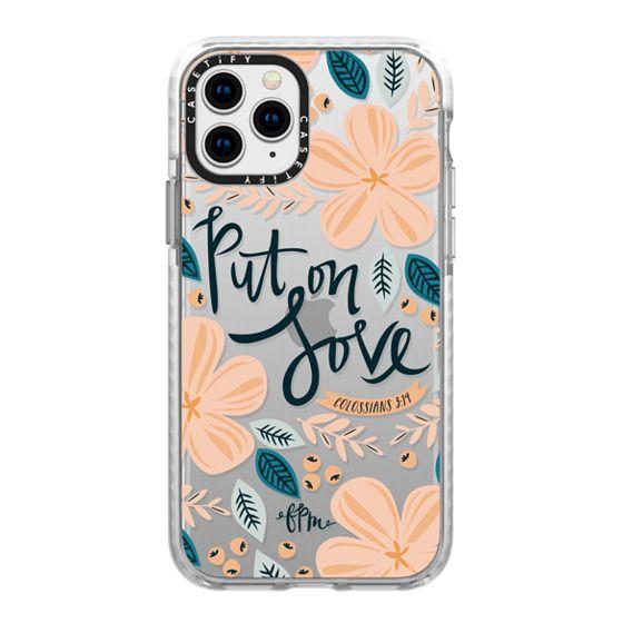 iPhone 11 Pro Cases - Put on Love