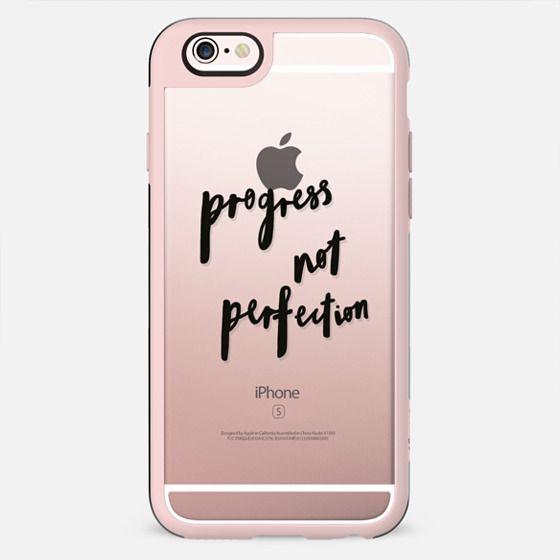 Progress Not Perfection - New Standard Case