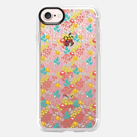 Bright and Happy Floral - Snap Case