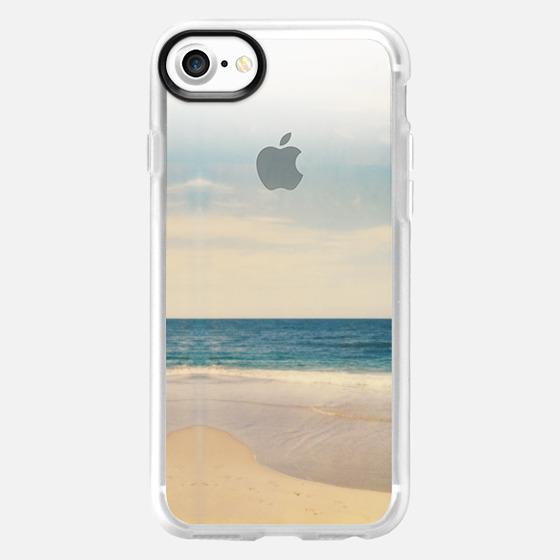 Vintage Polaroid Beach - Wallet Case