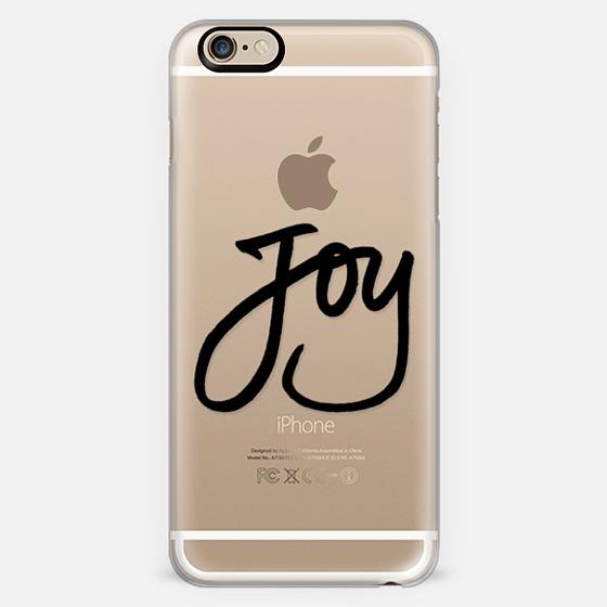 Joy (Black Writing) (Holidays, Christmas) -