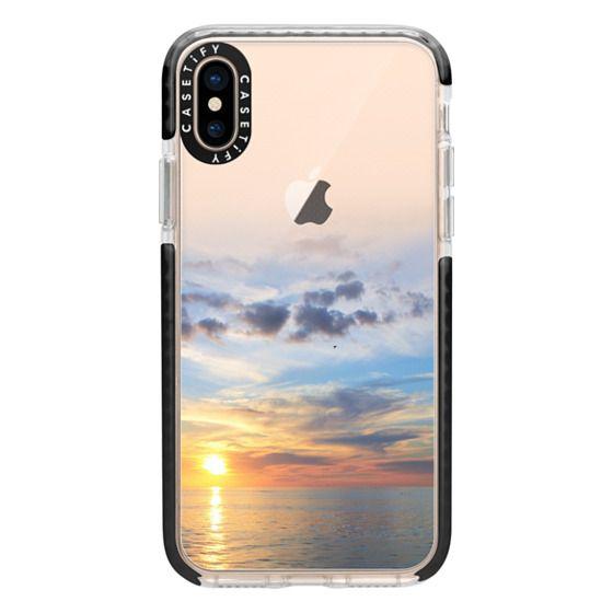 iPhone XS Cases - Ocean Sunset